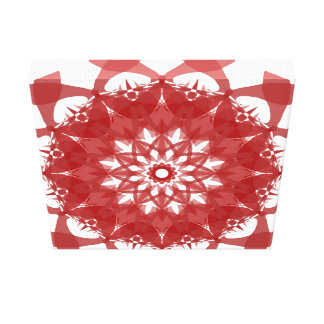 Toile Fleur rouge de Geo
