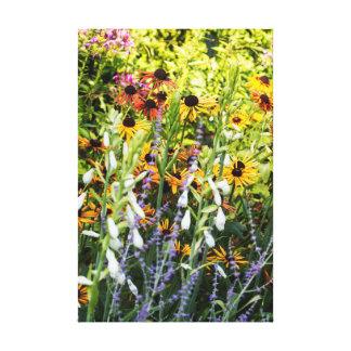 Toile Fleurs d'été