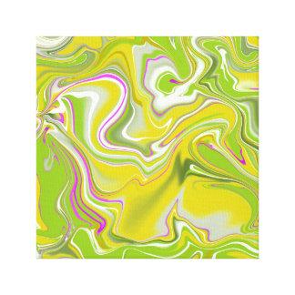 Toile Fond de marbre abstrait vert