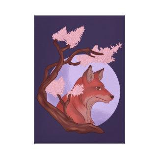 Toile Fox de Sakura