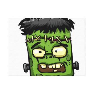 Toile Frankenstein de bébé - contreseing de bébé -