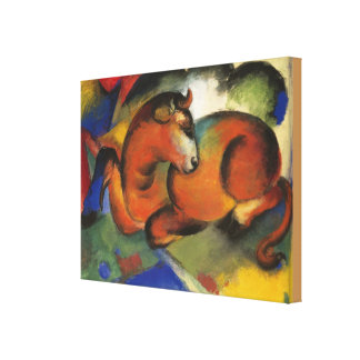 Toile Franz Marc vintage Red Bull