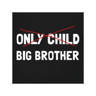 Toile Frère d'enfant unique