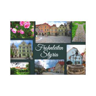 Toile Frohnleiten - une des plus jolies villes de la