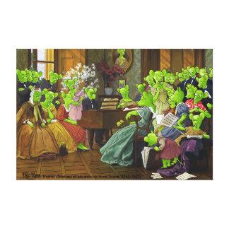 "Toile From ""Smetana and his friends"" Franz Dvorak"