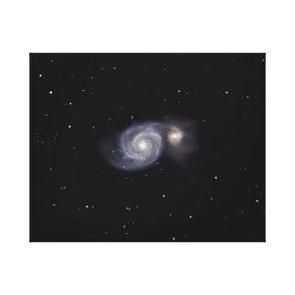 Toile Galaxie #7 de tourbillon