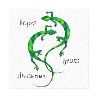Toile Geckos