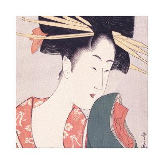 Toile Geisha japonais