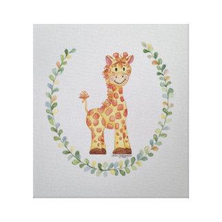 Toile Girafe de bébé