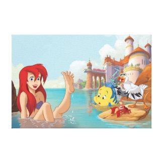 Toile Grand rêveur d'Ariel |
