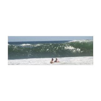 Toile Grandes vagues