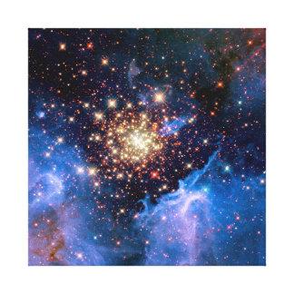 Toile Groupe d'étoile de NGC 3603 - photo de l'espace de