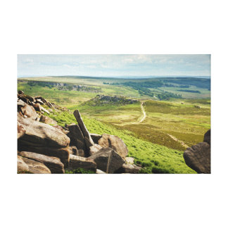Toile Hathersage amarrent la photo maximale de secteur