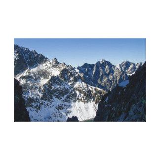 Toile Haute montagne de Tatras, Slovaquie
