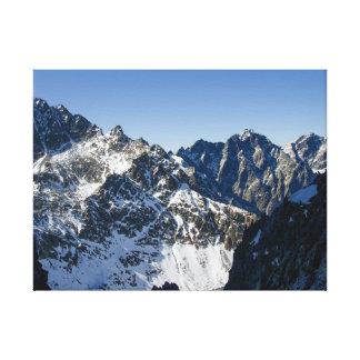 Toile Hautes montagnes de Tatra, Slovaquie