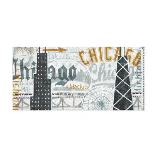 Toile Hé cru de Chicago