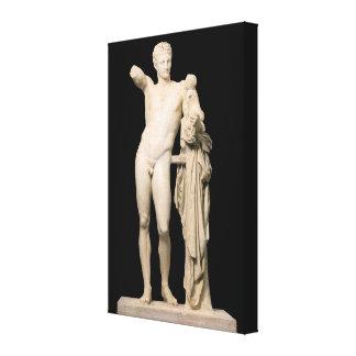 Toile Hermes et le Dionysus infantile