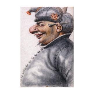 Toile Homme grotesque de Nicolas Lagneau utilisant un