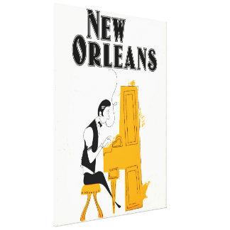 Toile Honky Tonk de la Nouvelle-Orléans