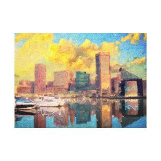 Toile Horizon de Baltimore le Maryland