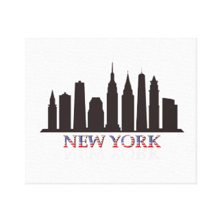 Toile horizon de New York