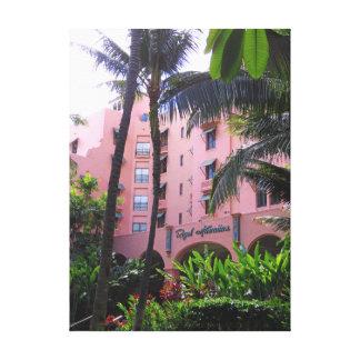 Toile Hôtel hawaïen royal