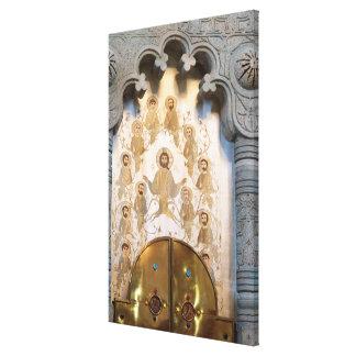 Toile Illustration chrétienne de saint