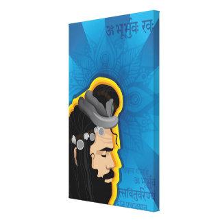 Toile Illustration sage de Bohème indienne de Digitals