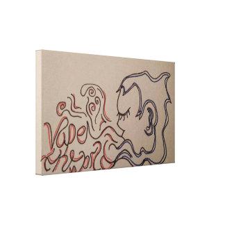 Toile Illustrations originales de Vape