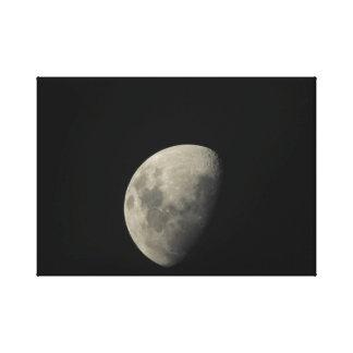 Toile Image de lune