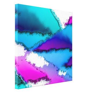 Toile imaginaire abstrait 29B