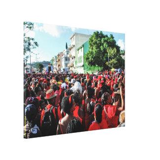 Toile imprimée : Gwan Chawa carnaval 2015