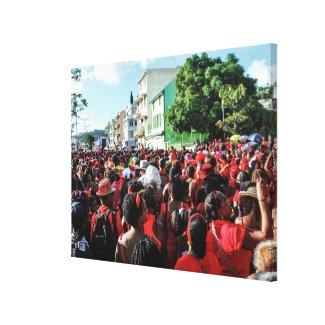 Toile imprimée : Gwan Chawa carnaval 2015 Toiles