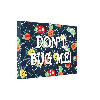 Toile Insectes, abeilles et araignées