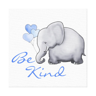Toile Inspiré soyez crèche mignonne aimable d'éléphant