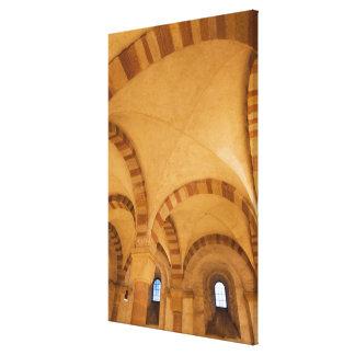 Toile Intérieur de crypte de cathédrale, Allemagne