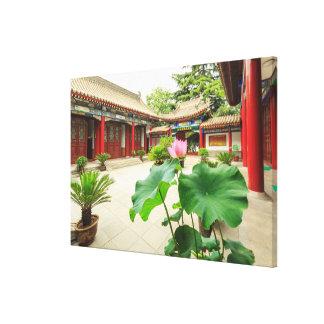 Toile Intérieur de pagoda de la Chine