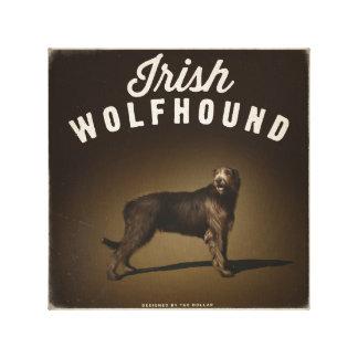 Toile Irish Wolfhound