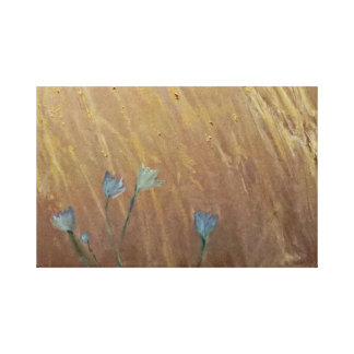 Toile Jacinthes des bois dans le blé