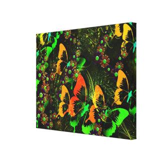 Toile Jardin 2 de papillon