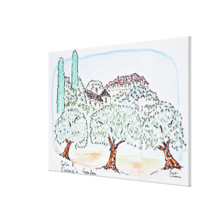 Toile Jardin dans Speracedes, Cabris | au sud de la