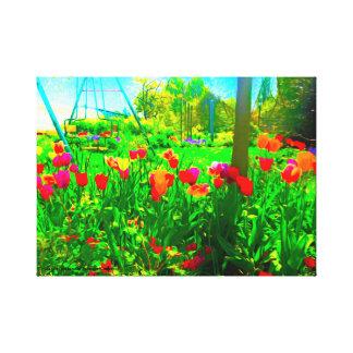 Toile Jardin de jardin