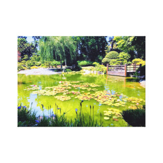 Toile Jardin japonais