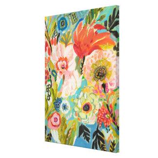 Toile Jardin secret III floral