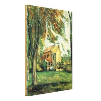 Toile Jas de Bouffan par Paul Cezanne