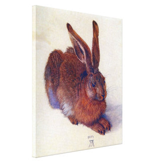 Toile Jeunes lièvres par Albrecht Durer, beaux-arts de