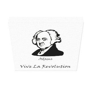 Toile John Adams - révolution de La de Vive