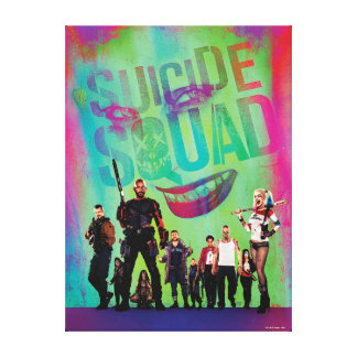 Toile Joker du peloton | de suicide et affiche de film