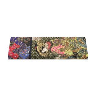 Toile Kimono débordant de geisha