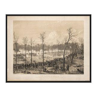 Toile La bataille de Shiloh par Alfred E. Mathews (1862)